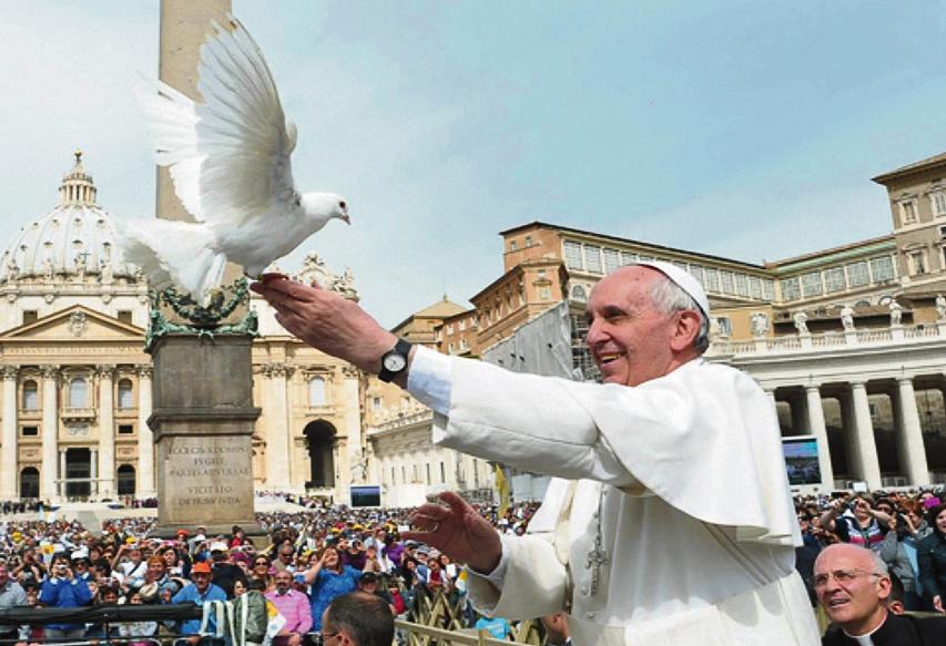 Paavi Franciscuksen viesti Maailman rauhanpäivää varten (1. tammikuuta 2018)