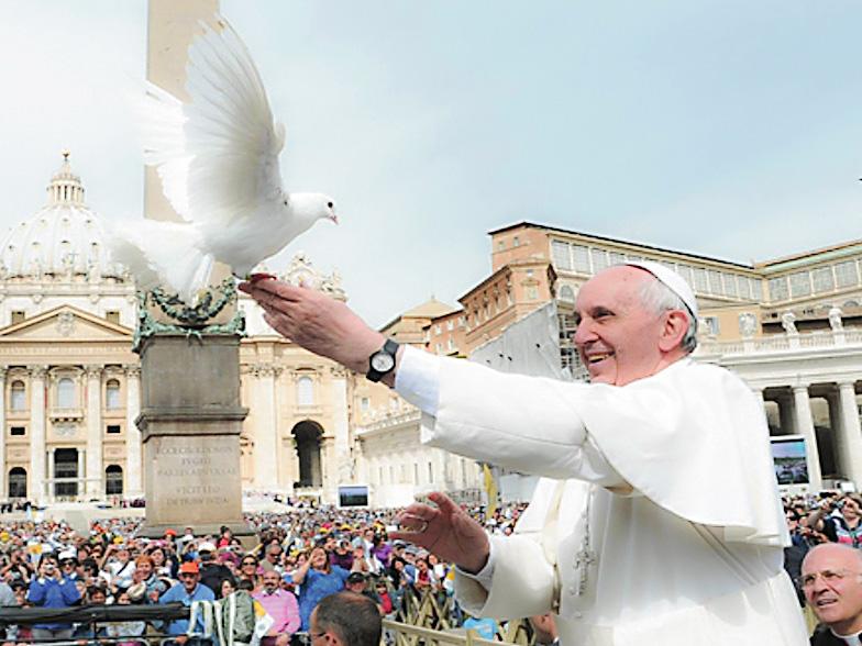 Paavin lähetysviesti 2019