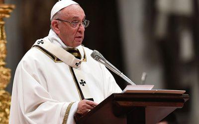 Paavi Franciscuksen saarna jouluyön messussa 2020: Lapsi on syntynyt meille