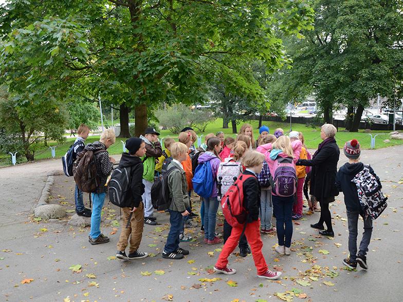 Koululaismessut Helsingissä syksyllä 2018