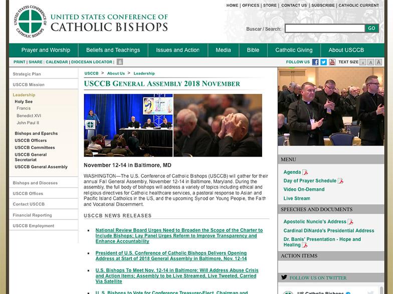 Vatikaani ohjeisti yllättäen Yhdysvaltain piispainkokousta